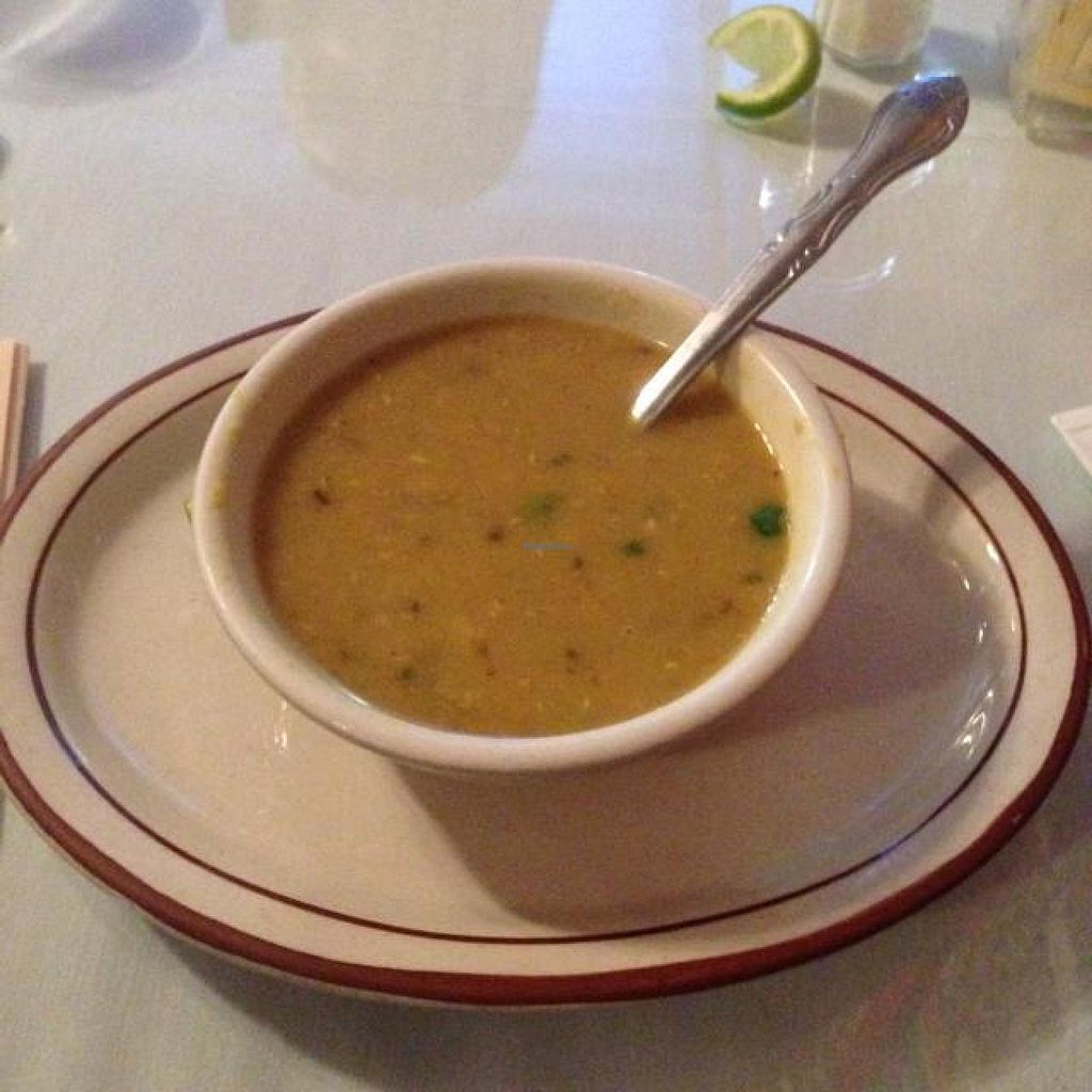 """Photo of Himalayan Restaurant  by <a href=""""/members/profile/Criysto"""">Criysto</a> <br/>lentil soup  <br/> December 6, 2014  - <a href='/contact/abuse/image/42493/87365'>Report</a>"""