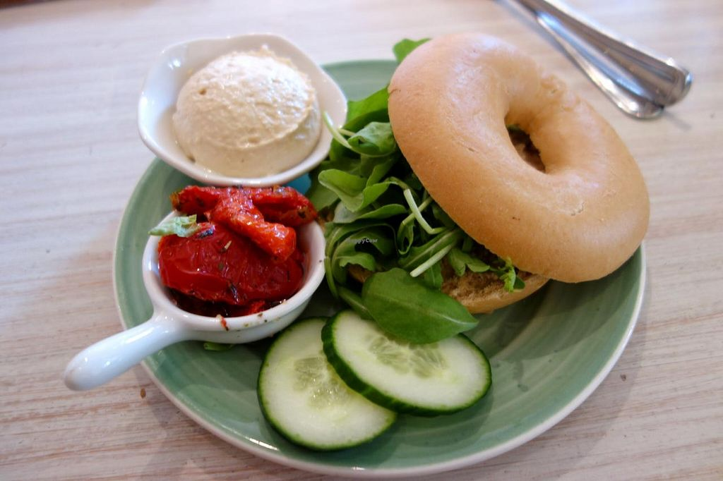 """Photo of Bagels & Beans  by <a href=""""/members/profile/Gudrun"""">Gudrun</a> <br/>Bagels and Beans <br/> September 8, 2014  - <a href='/contact/abuse/image/42499/79396'>Report</a>"""