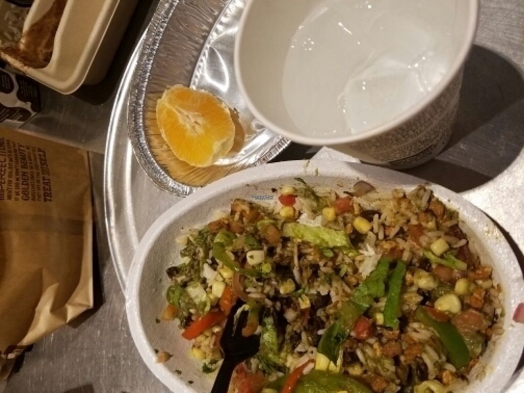 """Photo of Chipotle  by <a href=""""/members/profile/NiaBrookeBurns"""">NiaBrookeBurns</a> <br/>sofritas bowl  <br/> August 20, 2016  - <a href='/contact/abuse/image/42548/170314'>Report</a>"""