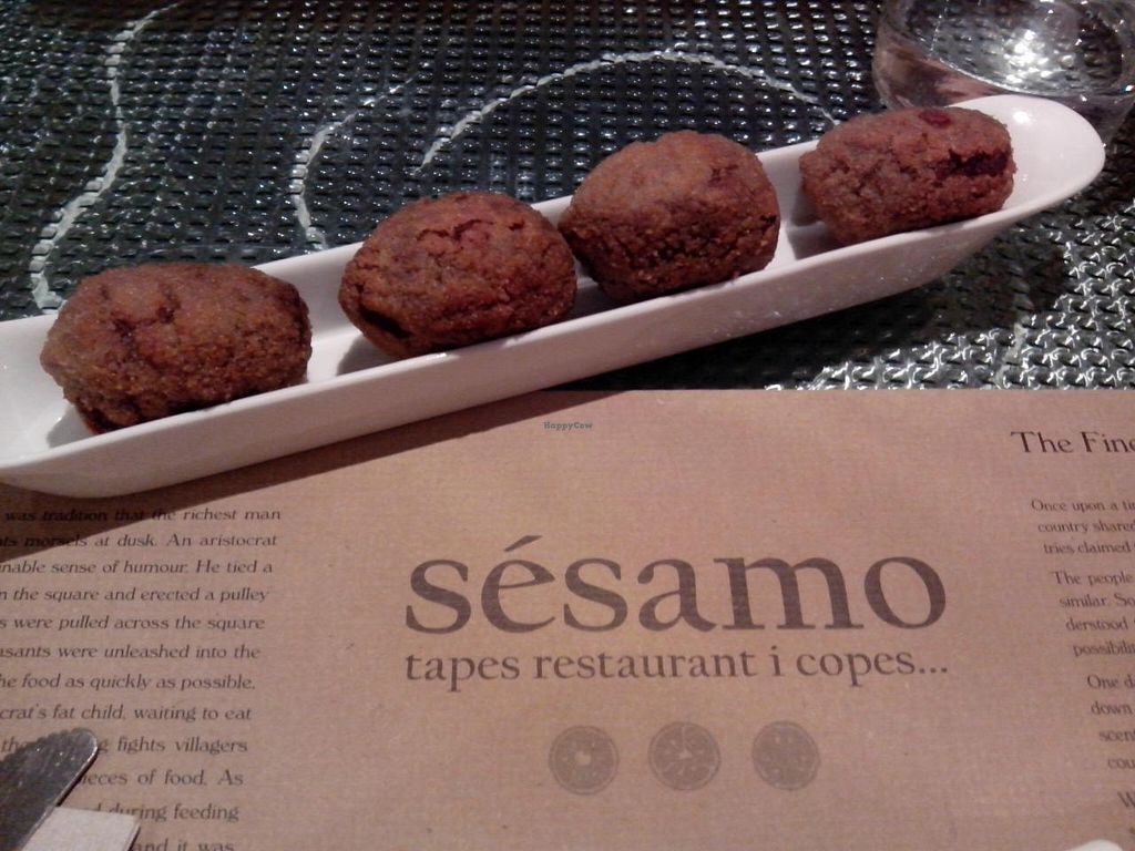 Photo of Sesamo  by Papika <br/>Mushrooms croquettes <br/> June 21, 2014  - <a href='/contact/abuse/image/4256/72453'>Report</a>