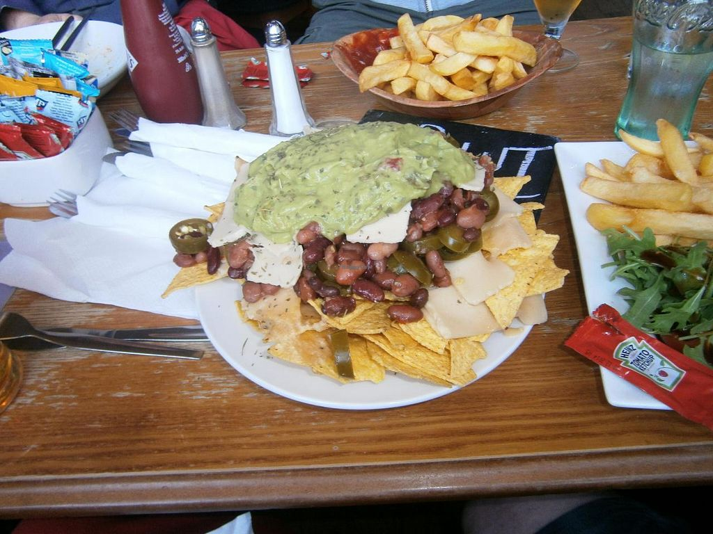 """Photo of The Auld Hoose  by <a href=""""/members/profile/imogenmichel"""">imogenmichel</a> <br/>Vegan Nachos at The Auld Hoose <br/> May 1, 2014  - <a href='/contact/abuse/image/42585/69050'>Report</a>"""