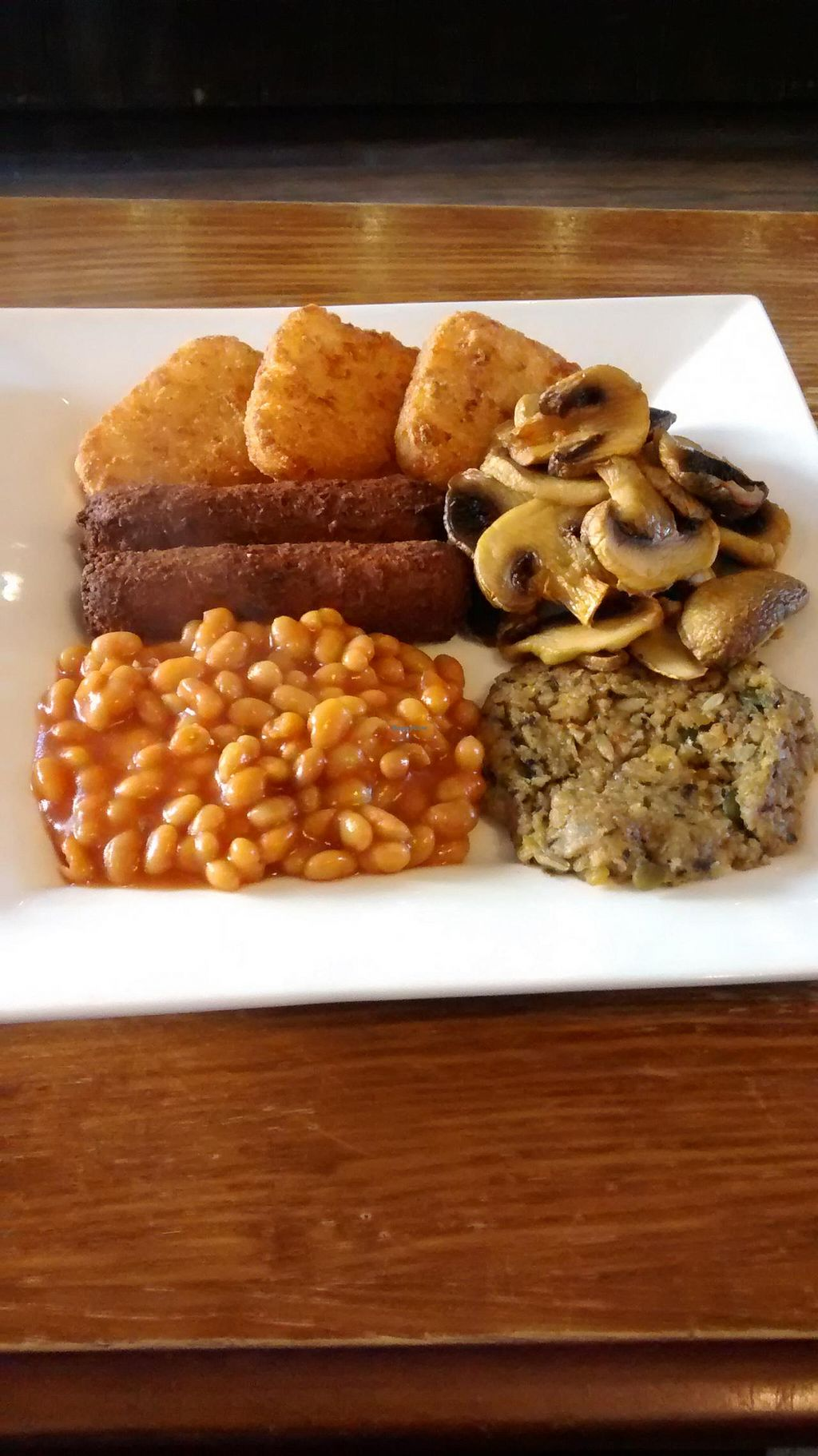 """Photo of The Auld Hoose  by <a href=""""/members/profile/craigmc"""">craigmc</a> <br/>Vegan breakfast <br/> April 7, 2015  - <a href='/contact/abuse/image/42585/98185'>Report</a>"""