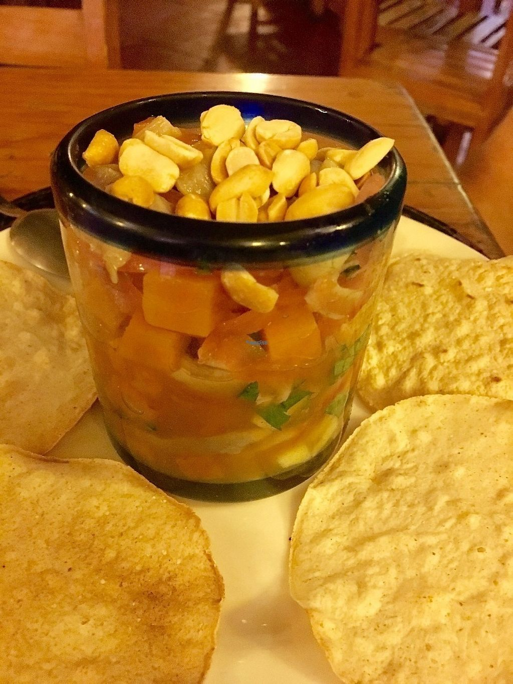 """Photo of Calabacitas Tiernas  by <a href=""""/members/profile/instantxkarmaa"""">instantxkarmaa</a> <br/>Vegan ceviche <br/> February 8, 2017  - <a href='/contact/abuse/image/42595/224457'>Report</a>"""