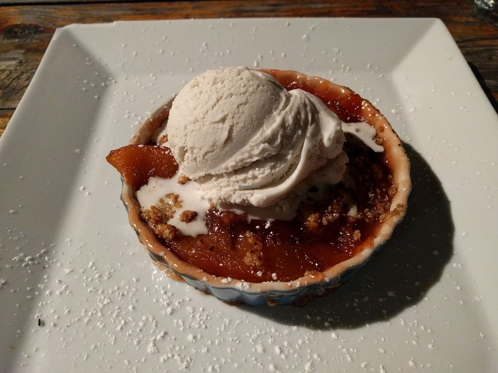 """Photo of Seabirds Kitchen  by <a href=""""/members/profile/Sonja%20and%20Dirk"""">Sonja and Dirk</a> <br/>peach crumble <br/> March 24, 2016  - <a href='/contact/abuse/image/42600/141187'>Report</a>"""