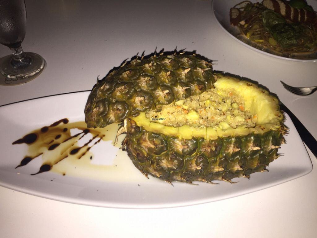 "Photo of Elements Restaurant  by <a href=""/members/profile/Fit_Fathers"">Fit_Fathers</a> <br/>pineapple quinoa <br/> December 5, 2015  - <a href='/contact/abuse/image/42626/127324'>Report</a>"