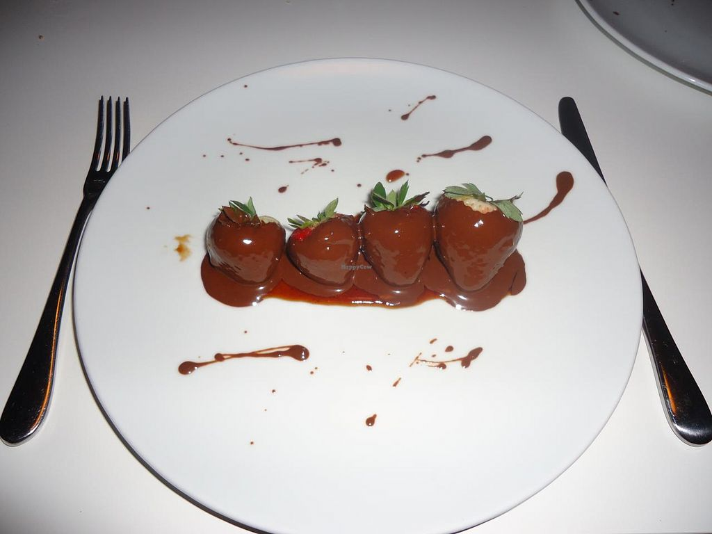 "Photo of Elements Restaurant  by <a href=""/members/profile/Michael%20X.%20James"">Michael X. James</a> <br/>Vegan chocolate covered strawberries <br/> January 1, 2014  - <a href='/contact/abuse/image/42626/61482'>Report</a>"
