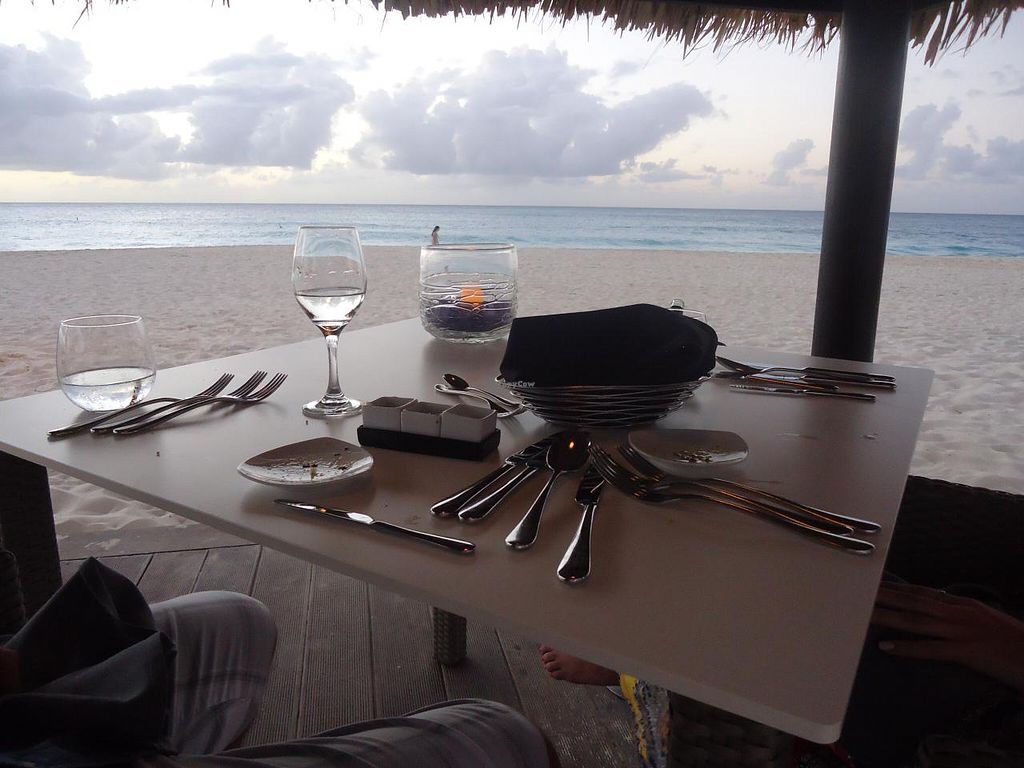 "Photo of Elements Restaurant  by <a href=""/members/profile/Michael%20X.%20James"">Michael X. James</a> <br/>The palapa on the beach <br/> January 1, 2014  - <a href='/contact/abuse/image/42626/61483'>Report</a>"