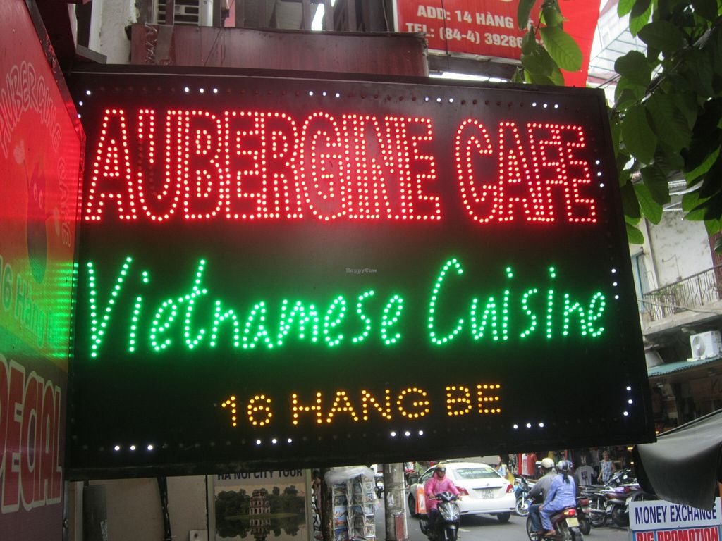 """Photo of Aubergine Cafe  by <a href=""""/members/profile/Amanda%20Panda"""">Amanda Panda</a> <br/>street signage <br/> September 24, 2015  - <a href='/contact/abuse/image/42628/118942'>Report</a>"""