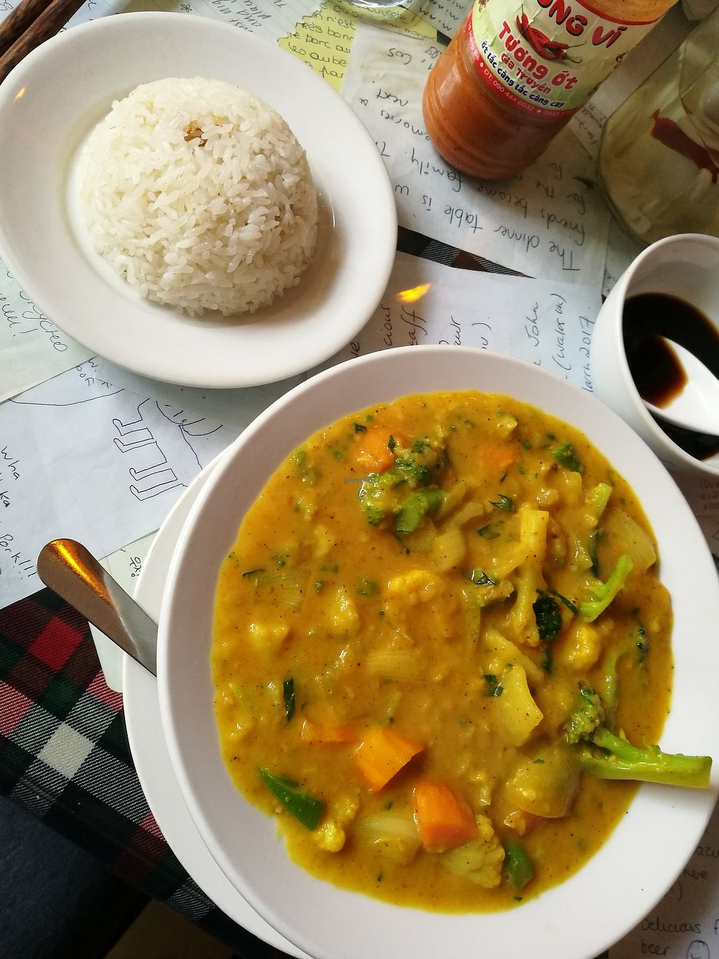 """Photo of Aubergine Cafe  by <a href=""""/members/profile/VolleyMacaroni"""">VolleyMacaroni</a> <br/>Vegetable Curry <br/> April 5, 2018  - <a href='/contact/abuse/image/42628/380964'>Report</a>"""