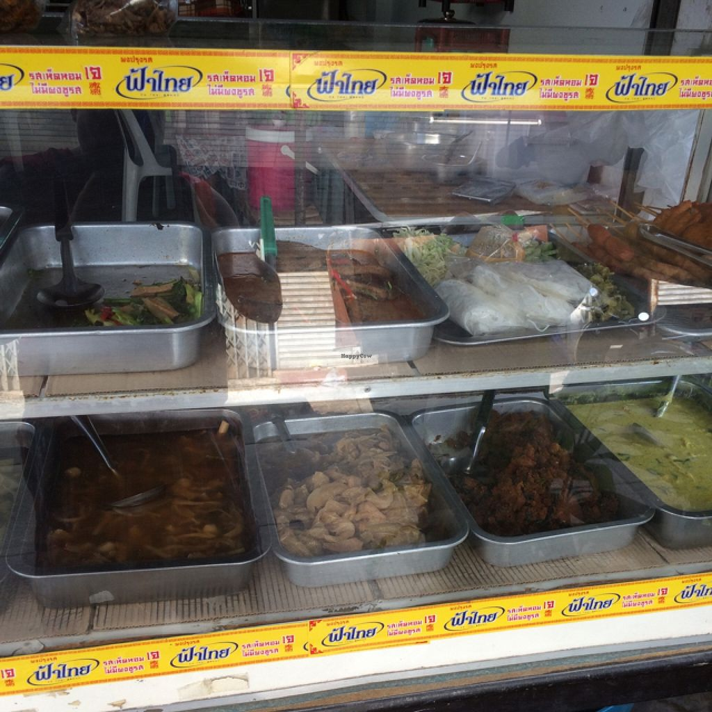 """Photo of Veg Restaurant  by <a href=""""/members/profile/grasseater76"""">grasseater76</a> <br/>the selection as of today <br/> November 11, 2015  - <a href='/contact/abuse/image/42629/124649'>Report</a>"""