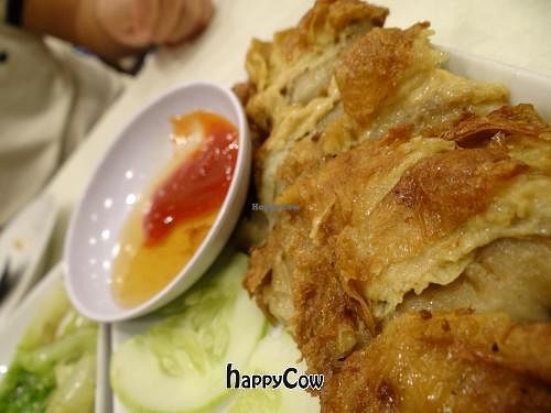 "Photo of CLOSED: VegeGood  by <a href=""/members/profile/AndreaPassini"">AndreaPassini</a> <br/>fried chicken with sweet and sour dipping sauce <br/> January 3, 2013  - <a href='/contact/abuse/image/4262/42272'>Report</a>"