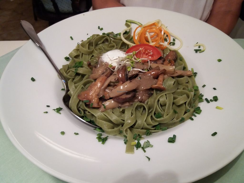 """Photo of Gaja's Welt  by <a href=""""/members/profile/Janina"""">Janina</a> <br/>Tagliatelle mit frischen Pilzen <br/> October 3, 2017  - <a href='/contact/abuse/image/42641/311351'>Report</a>"""