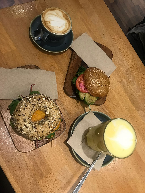 "Photo of Goodies Berlin - Veganz  by <a href=""/members/profile/Malliella"">Malliella</a> <br/>Sweetpotato & Avocado Bagel <br/> November 12, 2017  - <a href='/contact/abuse/image/42665/324760'>Report</a>"