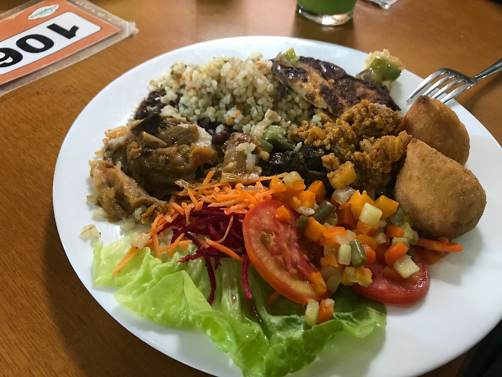 "Photo of O Vegetariano  by <a href=""/members/profile/Paolla"">Paolla</a> <br/>Hot dishes <br/> September 27, 2017  - <a href='/contact/abuse/image/42715/309207'>Report</a>"