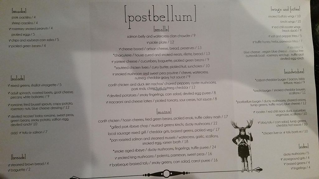 """Photo of Postbellum  by <a href=""""/members/profile/Aust10n"""">Aust10n</a> <br/>Menu <br/> August 25, 2015  - <a href='/contact/abuse/image/42739/232730'>Report</a>"""