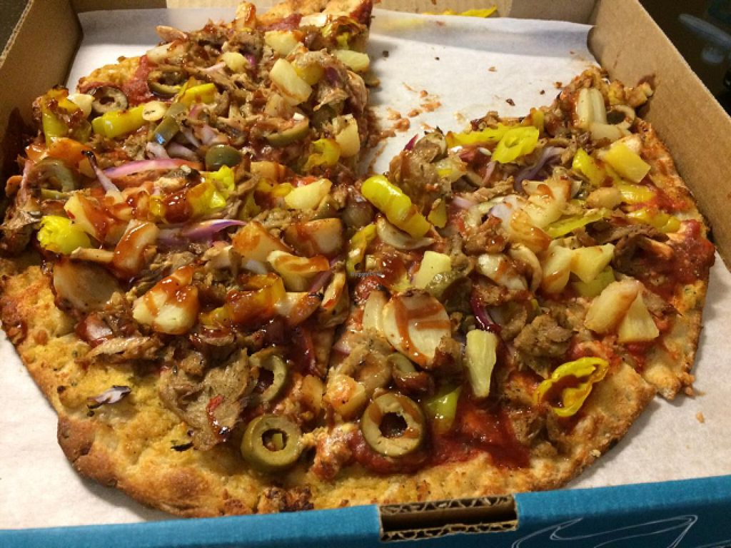 """Photo of Pizza Luce - Downtown  by <a href=""""/members/profile/Vegan%20Vagabond"""">Vegan Vagabond</a> <br/>The Rustler <br/> June 6, 2015  - <a href='/contact/abuse/image/42744/104979'>Report</a>"""