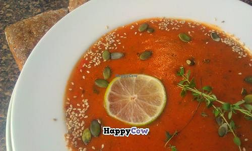 """Photo of Soppabaari  by <a href=""""/members/profile/Merryaurora"""">Merryaurora</a> <br/>Vegan soup <br/> November 5, 2013  - <a href='/contact/abuse/image/42762/57936'>Report</a>"""