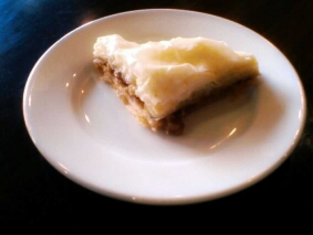 "Photo of Green Corner Cafe  by <a href=""/members/profile/kimartist"">kimartist</a> <br/>ORGANIC HONEY-GLAZED BAKLAVA <br/> November 3, 2015  - <a href='/contact/abuse/image/42774/123788'>Report</a>"