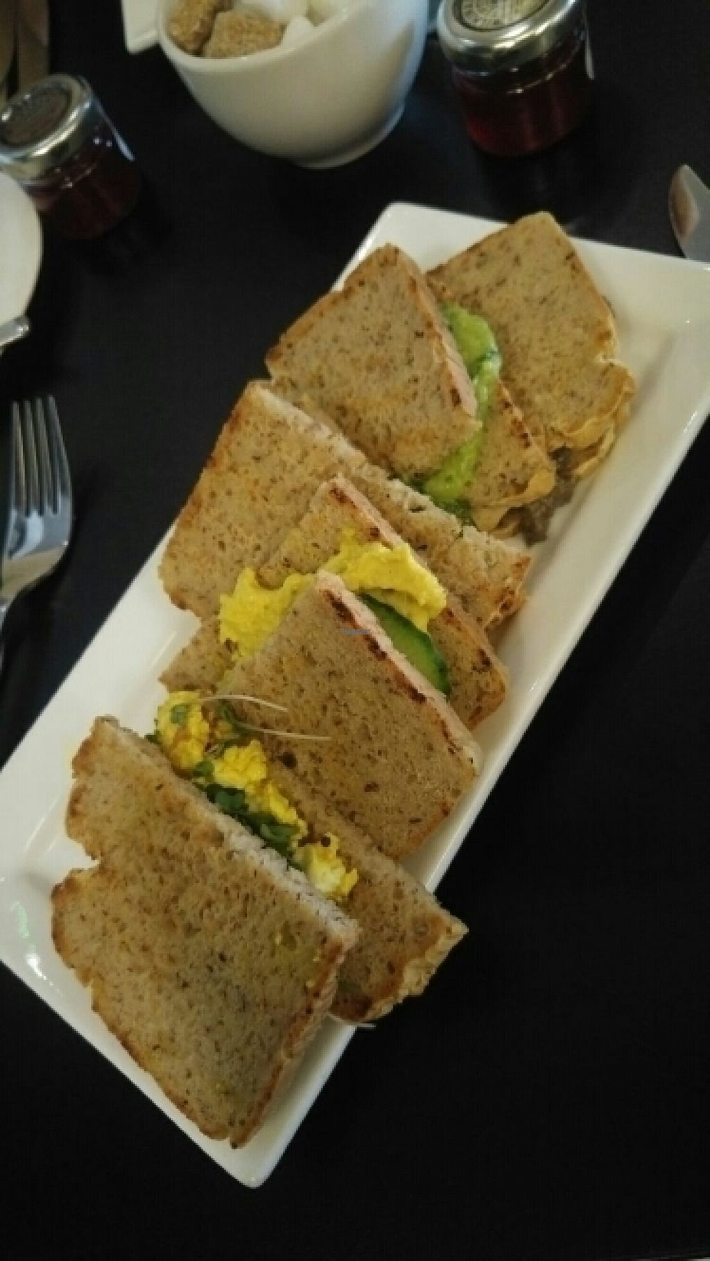 "Photo of CLOSED: Raw - La Suite West  by <a href=""/members/profile/Melissaj1990"">Melissaj1990</a> <br/>gluten free vegan sandwiches <br/> August 22, 2016  - <a href='/contact/abuse/image/42783/170767'>Report</a>"