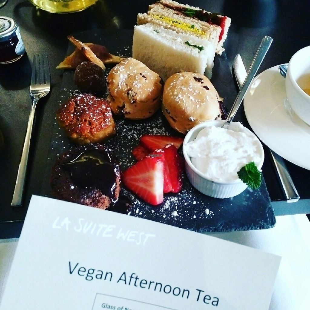 "Photo of CLOSED: Raw - La Suite West  by <a href=""/members/profile/Logge"">Logge</a> <br/>vegan afternoon tea <br/> March 28, 2017  - <a href='/contact/abuse/image/42783/242043'>Report</a>"