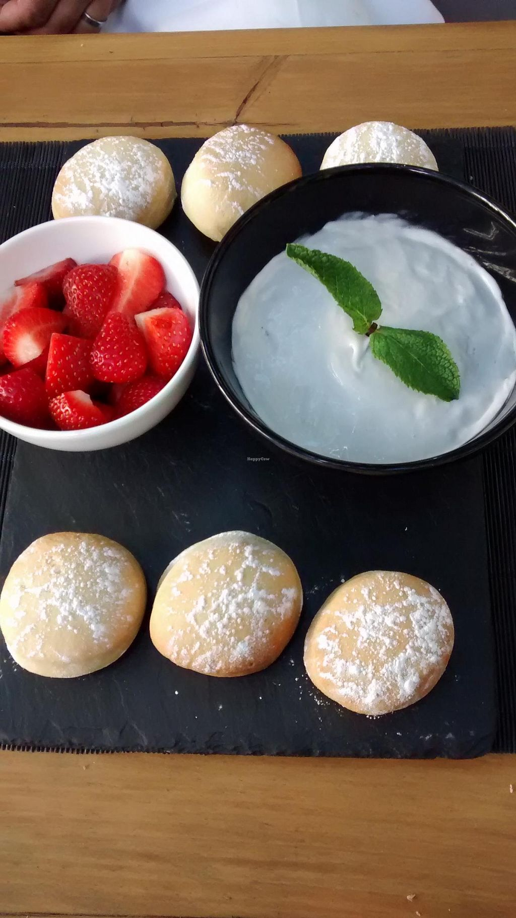 "Photo of CLOSED: Raw - La Suite West  by <a href=""/members/profile/GiraffeGirl"">GiraffeGirl</a> <br/>scones, strawberries and coconut cream <br/> September 1, 2014  - <a href='/contact/abuse/image/42783/78787'>Report</a>"