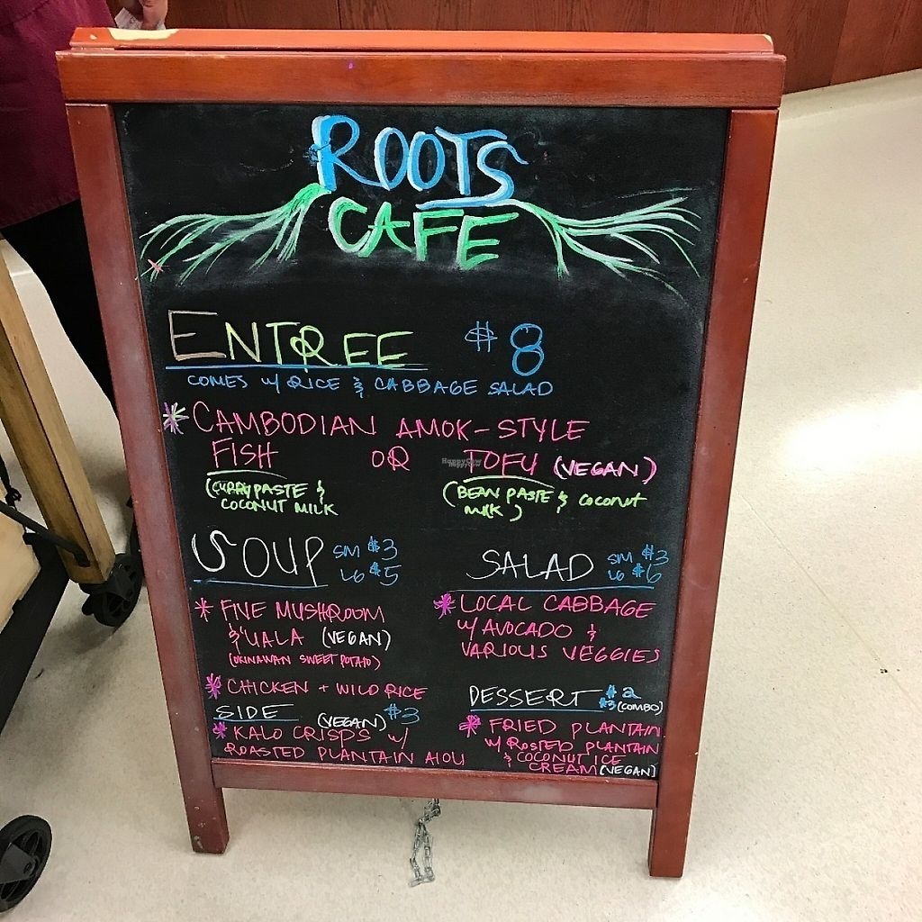 """Photo of Roots Cafe  by <a href=""""/members/profile/lkong"""">lkong</a> <br/>Menu <br/> December 12, 2016  - <a href='/contact/abuse/image/42790/200168'>Report</a>"""