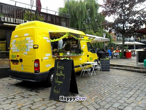 """Photo of Rupert's Street - Mobile Food Van  by <a href=""""/members/profile/LaVanessa"""">LaVanessa</a> <br/>Rupert's Street yellow food truck at Camden Lock Market <br/> October 27, 2013  - <a href='/contact/abuse/image/42802/57367'>Report</a>"""