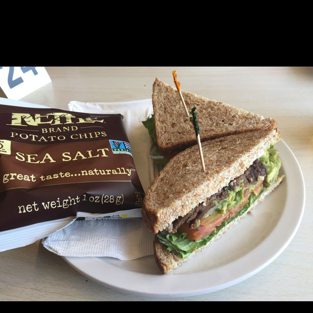 """Photo of High Country Health Foods  by <a href=""""/members/profile/Happyvegetables"""">Happyvegetables</a> <br/>we are enjoying their vegan blt + onion + avocado, because that's how we roll, and they have a tea & water station. how has this lovely place not been reviewed yet, it is The place to stop and eat and stock up! Very clean, totally cute and lovely! <br/> September 11, 2016  - <a href='/contact/abuse/image/42833/175114'>Report</a>"""