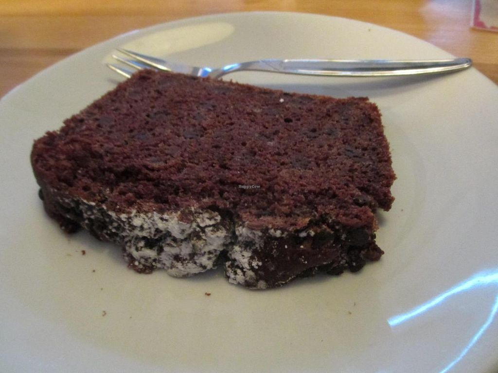 """Photo of Saint Louis - frisch and fertig  by <a href=""""/members/profile/Joyatri"""">Joyatri</a> <br/>Slice of vegan chocolate cake <br/> November 30, 2014  - <a href='/contact/abuse/image/42844/86833'>Report</a>"""