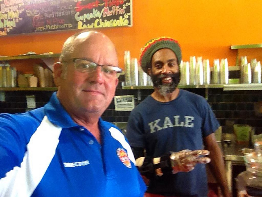 """Photo of Kale Cafe  by <a href=""""/members/profile/Heffpilot"""">Heffpilot</a> <br/>Omar & Heff visiting from Orlando <br/> May 7, 2015  - <a href='/contact/abuse/image/42862/101518'>Report</a>"""