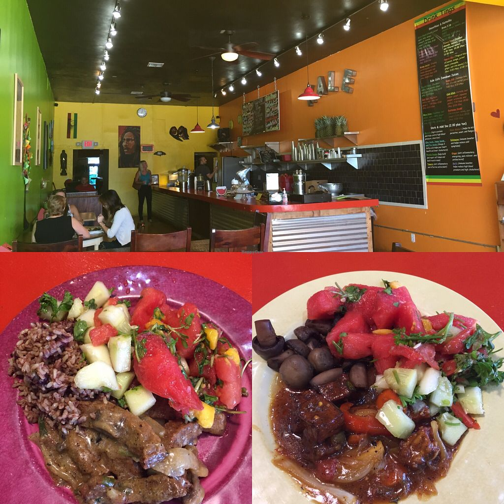 """Photo of Kale Cafe  by <a href=""""/members/profile/AmyJohnFranklin"""">AmyJohnFranklin</a> <br/>Perfect lunch spot for vegans <br/> August 12, 2015  - <a href='/contact/abuse/image/42862/113305'>Report</a>"""