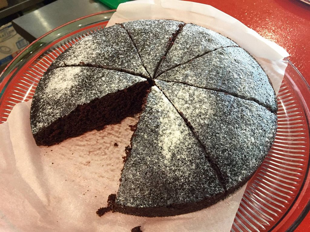 """Photo of Kale Cafe  by <a href=""""/members/profile/clovely.vegan"""">clovely.vegan</a> <br/>5-ingredient chocolate cake! <br/> October 21, 2015  - <a href='/contact/abuse/image/42862/122047'>Report</a>"""