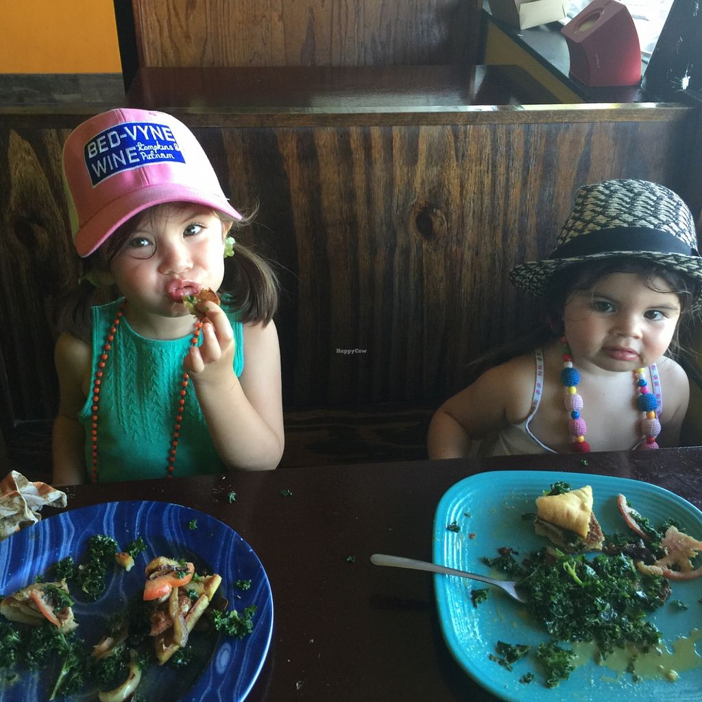 """Photo of Kale Cafe  by <a href=""""/members/profile/Twee%20G"""">Twee G</a> <br/>they loved the burgers and kale salad <br/> February 5, 2016  - <a href='/contact/abuse/image/42862/135104'>Report</a>"""