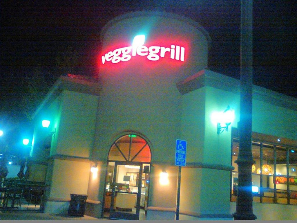 "Photo of Veggie Grill  by <a href=""/members/profile/KristinNirvana"">KristinNirvana</a> <br/>View from outside <br/> July 25, 2015  - <a href='/contact/abuse/image/42865/110978'>Report</a>"