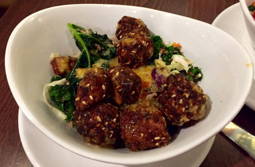 "Photo of Native Foods Cafe - Glendale  by <a href=""/members/profile/clovely.vegan"">clovely.vegan</a> <br/>Japanese sesame crusted Native chicken bites.  <br/> November 27, 2015  - <a href='/contact/abuse/image/42866/126310'>Report</a>"