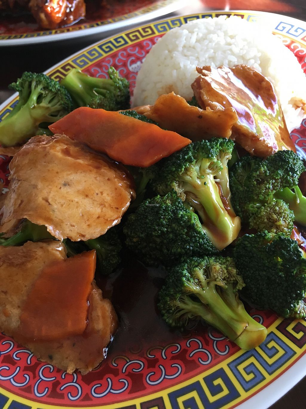 """Photo of Chen Vegetarian House  by <a href=""""/members/profile/whereiamfree"""">whereiamfree</a> <br/>""""Chicken"""" Broccoli ... the best! <br/> November 22, 2017  - <a href='/contact/abuse/image/42869/328002'>Report</a>"""