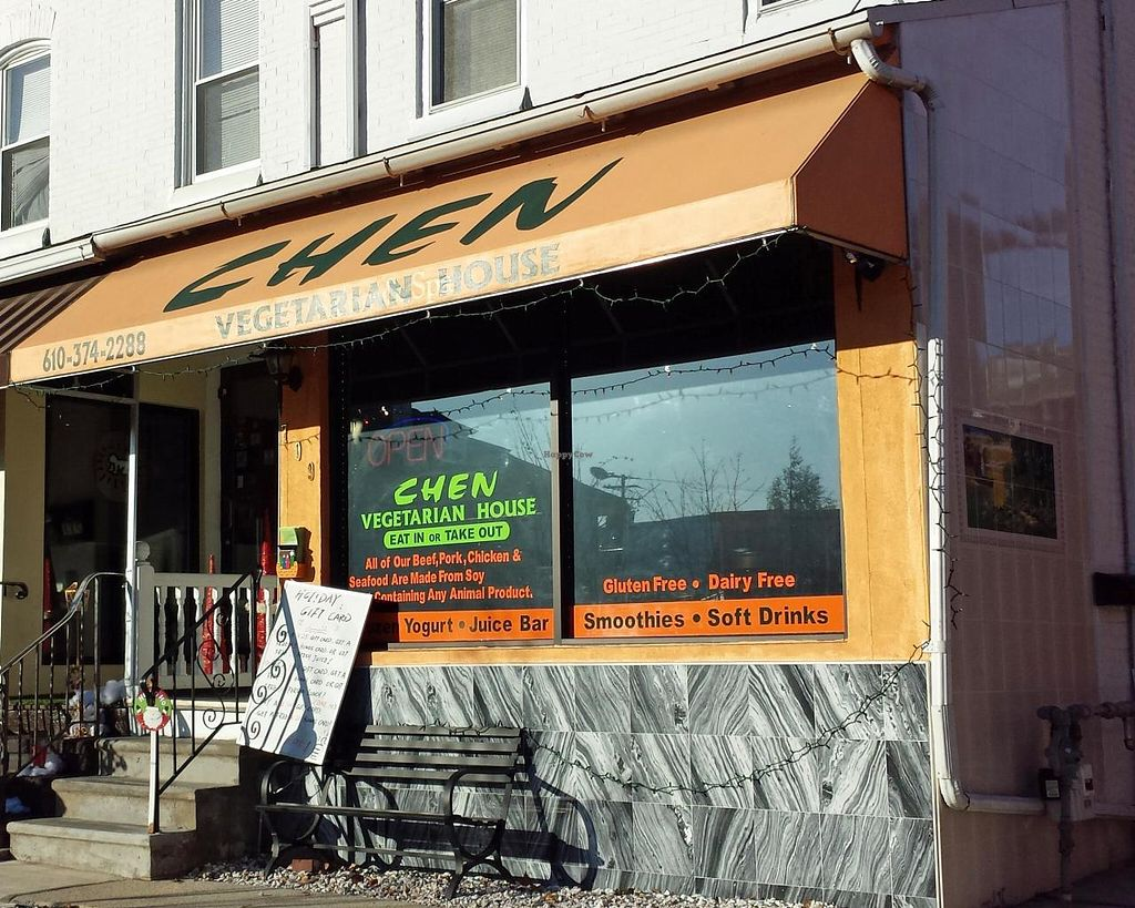 """Photo of Chen Vegetarian House  by <a href=""""/members/profile/rfd177"""">rfd177</a> <br/>Located on Penn Avenue in West Reading, Berks County, Pennsylvania.  <br/> December 7, 2014  - <a href='/contact/abuse/image/42869/87434'>Report</a>"""
