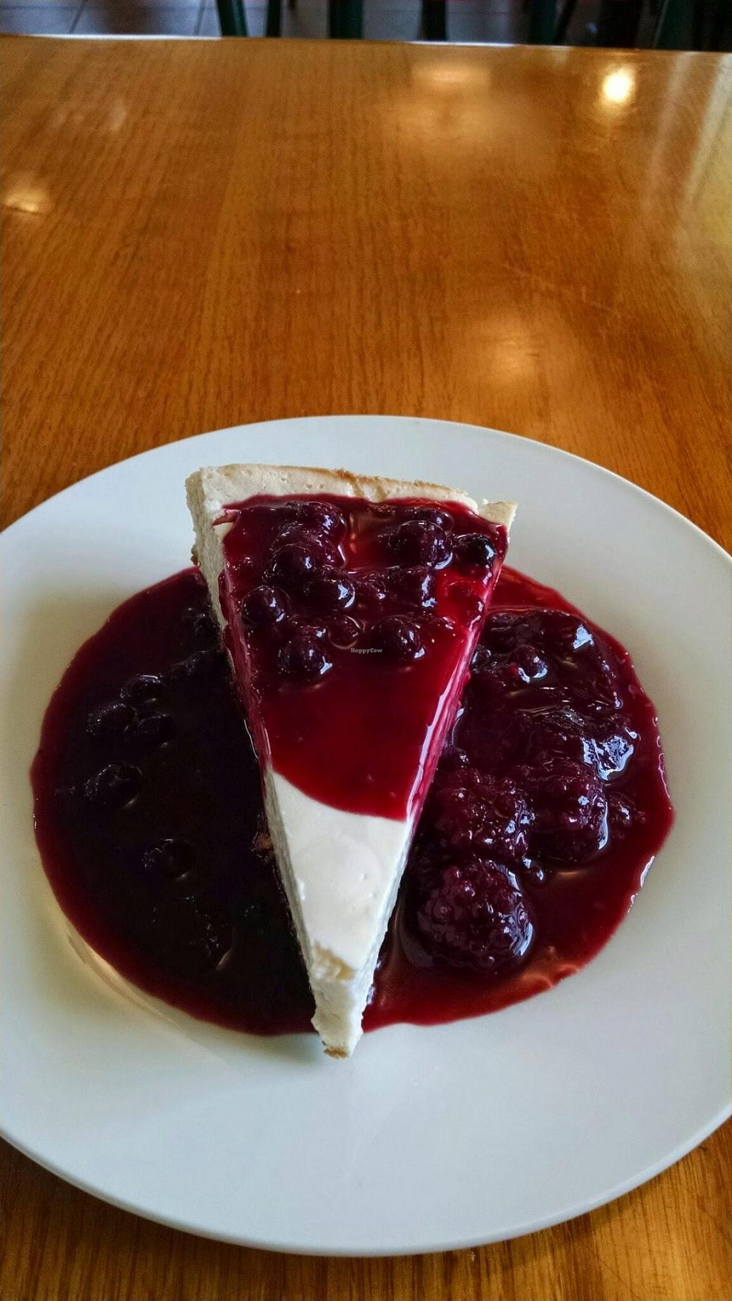 """Photo of The Olive Branch Cafe  by <a href=""""/members/profile/mpalmatier"""">mpalmatier</a> <br/>Ark Vegan's cheesecake.. Simply divine <br/> July 31, 2014  - <a href='/contact/abuse/image/42885/75693'>Report</a>"""