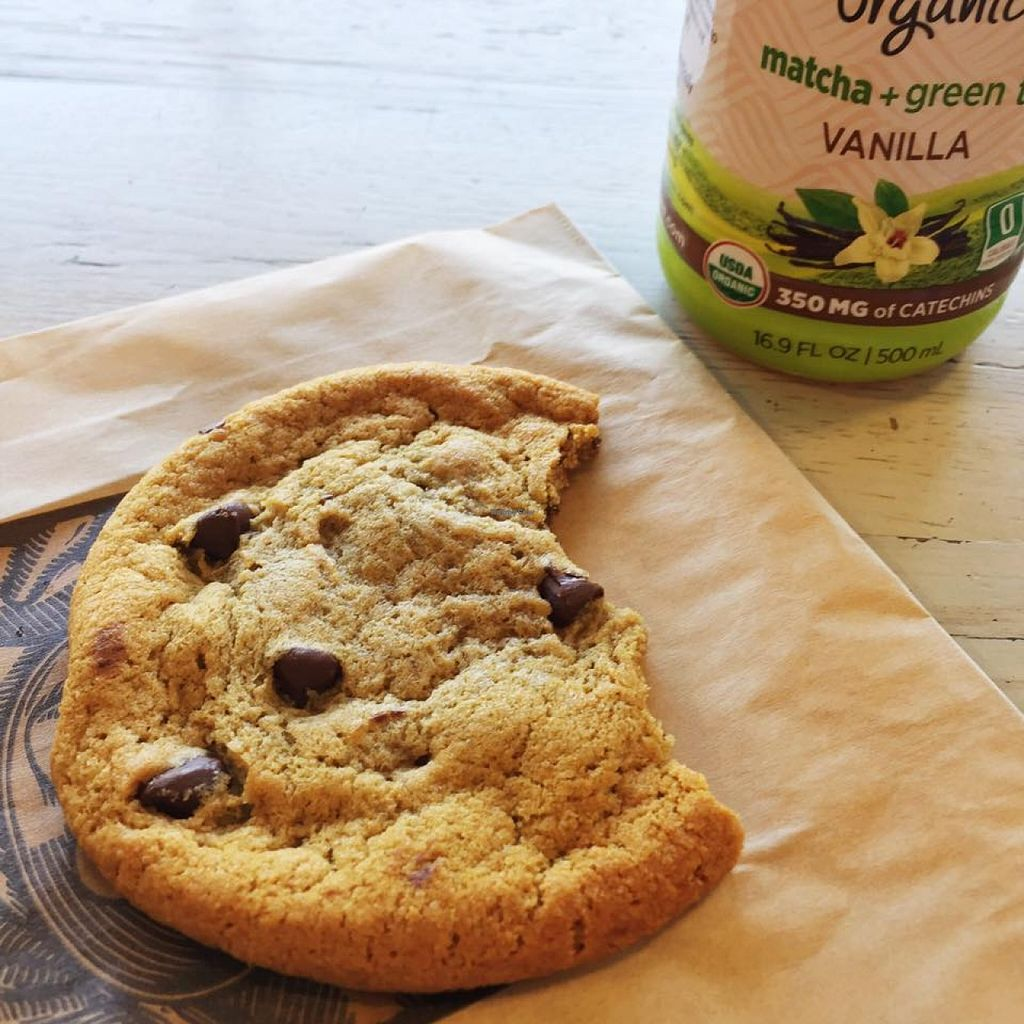 "Photo of Whole Foods Market  by <a href=""/members/profile/BriggitteJ"">BriggitteJ</a> <br/>Chewy Vegan Chocolate Chip Cookie from Port Chester Whole Foods <br/> April 12, 2016  - <a href='/contact/abuse/image/42916/144164'>Report</a>"