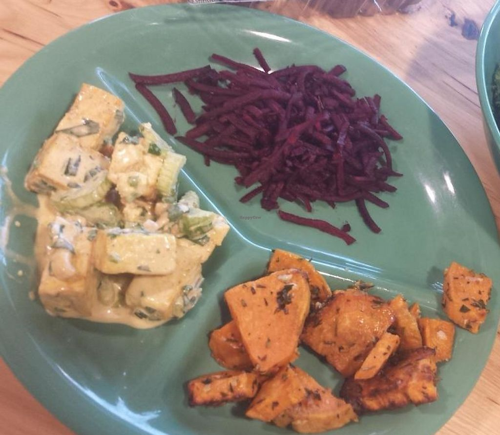 "Photo of Whole Foods Market - Hennepin Ave  by <a href=""/members/profile/EverydayTastiness"">EverydayTastiness</a> <br/>raw kale salad, sweet potatoes,  beets, and tofu salad <br/> September 12, 2014  - <a href='/contact/abuse/image/42921/206163'>Report</a>"
