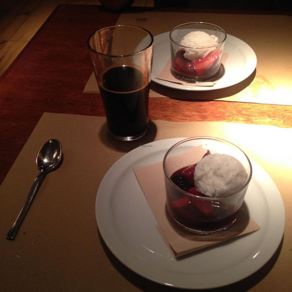"Photo of Ale and Hop  by <a href=""/members/profile/Necia11"">Necia11</a> <br/>sautéed berries with coconut sorbet <br/> April 21, 2015  - <a href='/contact/abuse/image/42923/99838'>Report</a>"