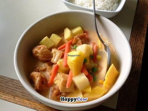 "Photo of Thai 2 Go  by <a href=""/members/profile/Julie%20R"">Julie R</a> <br/>Pineapple/Mango/Tofu curry with white rice.  It was SO delicious!! <br/> November 1, 2013  - <a href='/contact/abuse/image/42929/57708'>Report</a>"