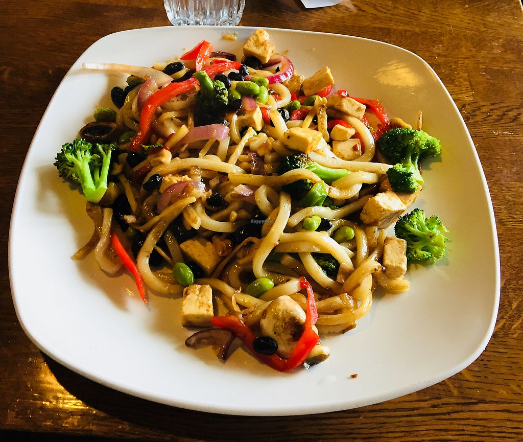 """Photo of Mongolie Grill  by <a href=""""/members/profile/L%C3%A9onieHenry"""">LéonieHenry</a> <br/>Vegan stir fry  <br/> April 12, 2018  - <a href='/contact/abuse/image/42936/384634'>Report</a>"""