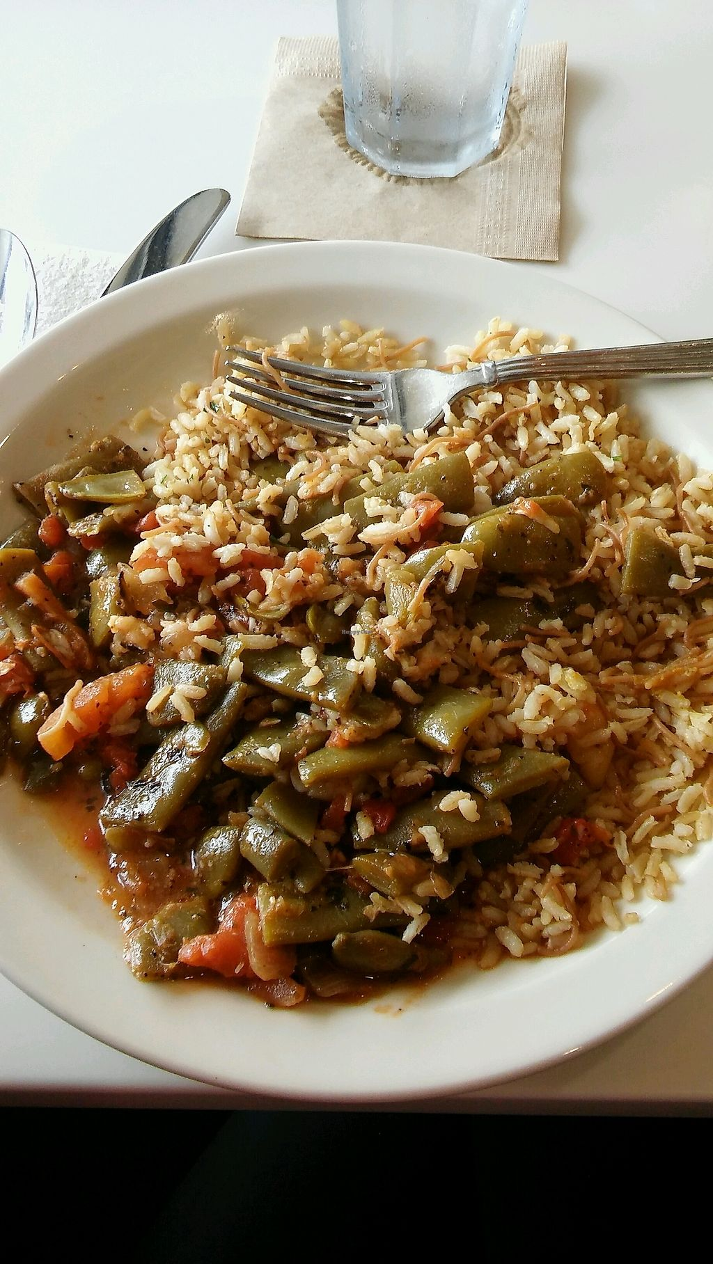 """Photo of Aladdin's Eatery  by <a href=""""/members/profile/RachelLette"""">RachelLette</a> <br/>Amazing Vegan Dish, I can't remember the name of, sorry <br/> September 19, 2017  - <a href='/contact/abuse/image/42970/306222'>Report</a>"""