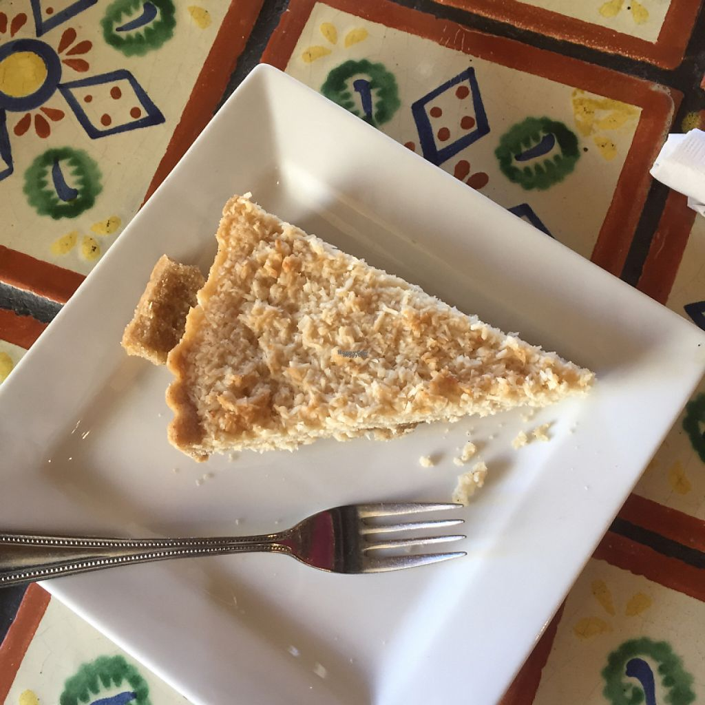 """Photo of Annapurna's World Vegetarian Cafe  by <a href=""""/members/profile/Kris10mo"""">Kris10mo</a> <br/>coconut cream pie (vegan) <br/> March 30, 2017  - <a href='/contact/abuse/image/4298/242744'>Report</a>"""
