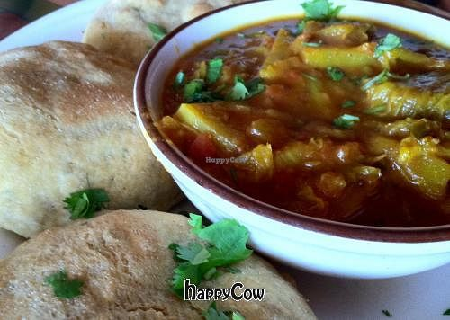 """Photo of Annapurna's World Vegetarian Cafe  by <a href=""""/members/profile/KimMiles"""">KimMiles</a> <br/>A wonderful bowl of comfort <br/> October 11, 2012  - <a href='/contact/abuse/image/4298/38909'>Report</a>"""