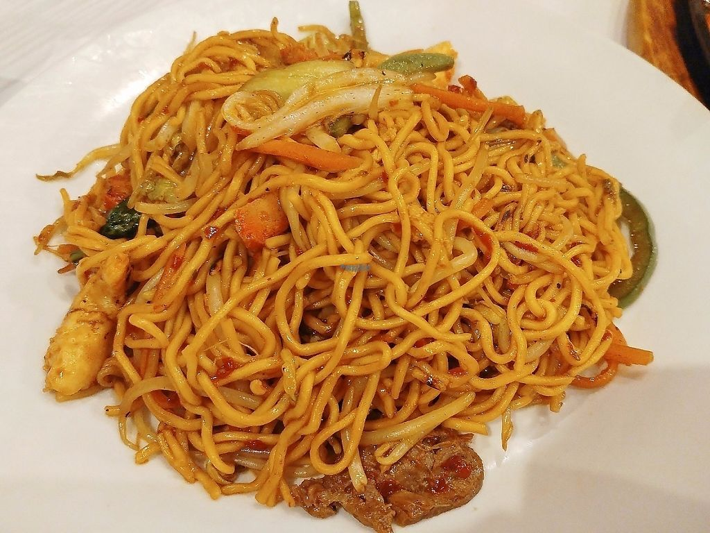 """Photo of Vegie Bowl  by <a href=""""/members/profile/verbosity"""">verbosity</a> <br/>Combination Noodle With Hot & Spicy Sauce <br/> April 19, 2017  - <a href='/contact/abuse/image/43017/249879'>Report</a>"""
