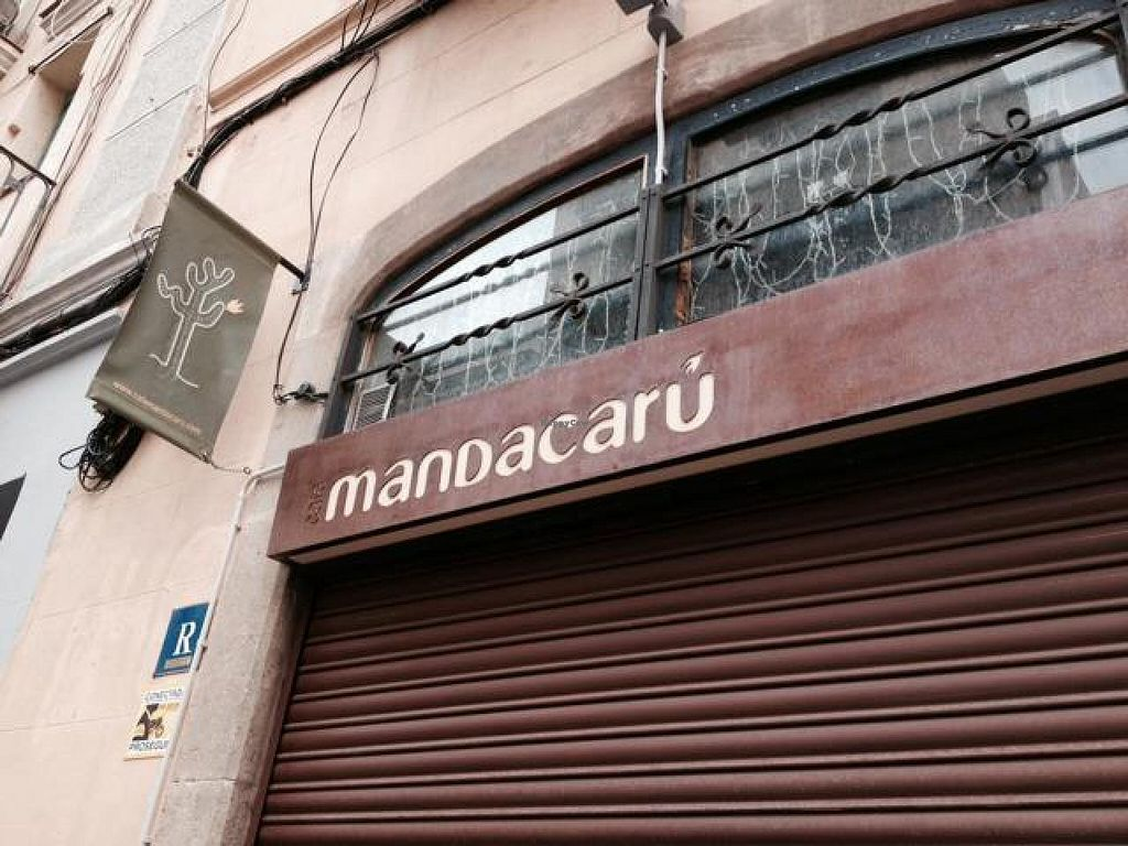 """Photo of CLOSED: Cafe Mandacaru  by <a href=""""/members/profile/hack_man"""">hack_man</a> <br/>Main Sign <br/> December 2, 2014  - <a href='/contact/abuse/image/43019/87048'>Report</a>"""