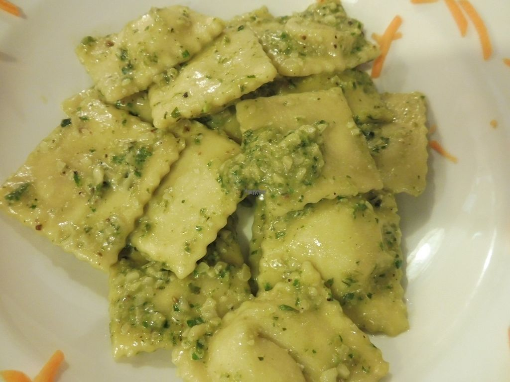 "Photo of La Lanterna  by <a href=""/members/profile/Tangomango"">Tangomango</a> <br/>best ravioli I had ever, and were vegan! Filled with soy (I think was tofu) <br/> August 29, 2016  - <a href='/contact/abuse/image/43047/172188'>Report</a>"