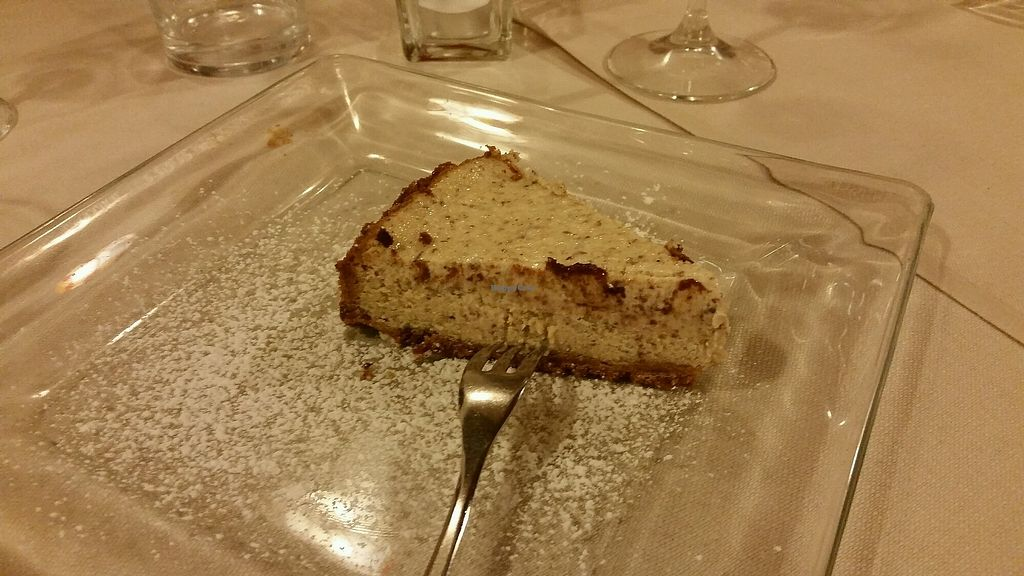"Photo of La Lanterna  by <a href=""/members/profile/Labarban"">Labarban</a> <br/>Almond Cheesecake <br/> October 15, 2017  - <a href='/contact/abuse/image/43047/315436'>Report</a>"